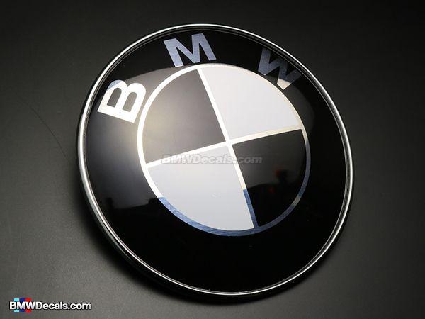 Emblema Logo Capota Portbagaj 82mm 74mm BMW E30 E36 E39 E46 E60 E90