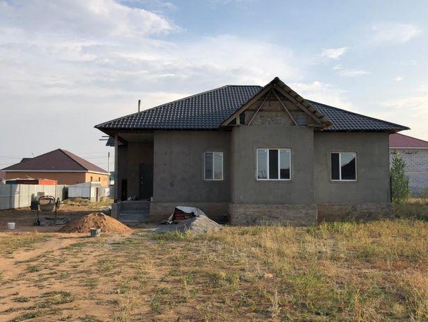 Продается дом в черновом варианте в городе Косшы. дом построен из газо