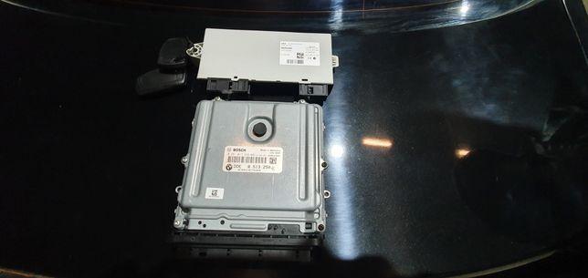 Calculator motor + CAS pentru BMW F10 520d din 2011!