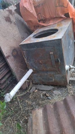 Продаётся печка на твёрдом топливе