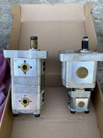 Pompa hidraulica cu dublu corp pentru tractor incarcator frontal