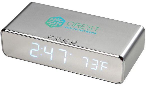 Часовник за безжично зареждане на Leed's Silver Keen