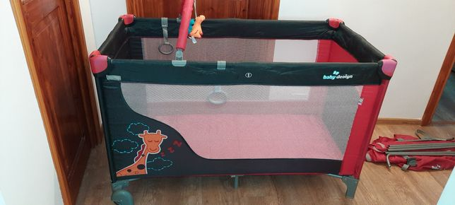URGENT Patut pliabil 2 nivele Baby Design
