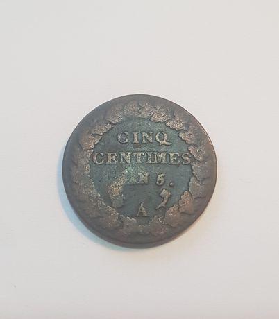 Moneda 5 centimes 1796 Franta