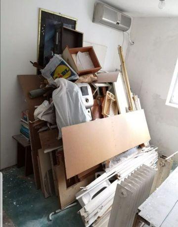Debarasez gunoi, moloz, mobila, mutări etc