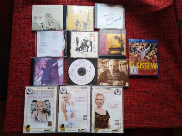 CD filme,CD muzica, casete audio, muzica veche.
