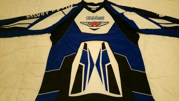 Can rasing team moto cross мото фланелка,блуза XL