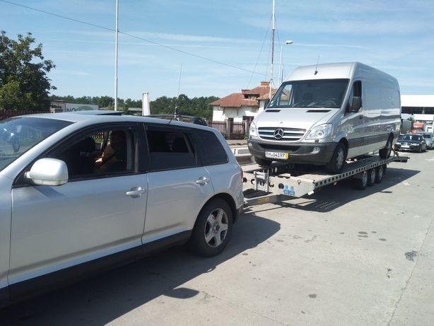 Transport auto autoutilitare defecte intern extern non stop