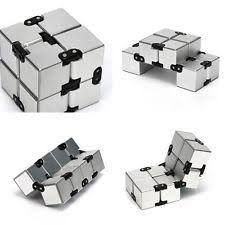 Fidget cube infinity cub spiner cube spiner magic antistres squishy