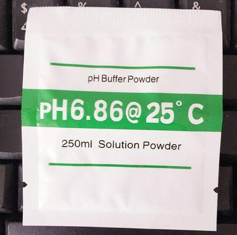 pliculete cu pulbere pentru calibrarea PH metrului digital 5lei = 1buc