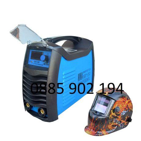 СОЛАРНА МАСКА + 250А МАХ Инверторен Електрожен IGBT с дисплей