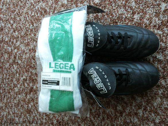 нови футболни обувки Legea + калци