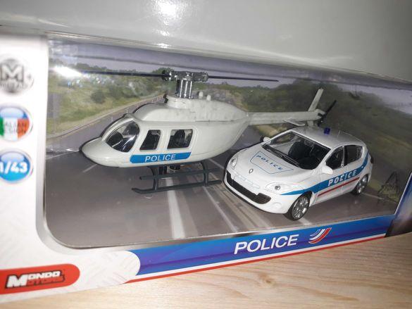 Полицейски модели .във 1.43 и 1.72  мащаб