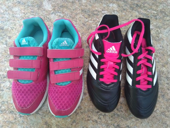 Маратонки и бутонки Adidas ном.35