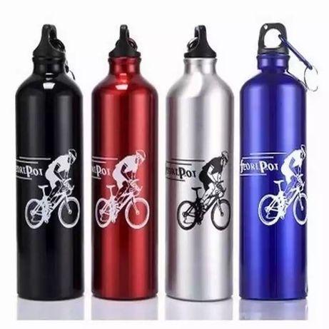 Sticla/ Recipient Termos Rosu pentru Bicicleta