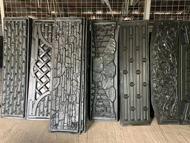 Matrițe (forme) ABS pentru plăci de gard și stâlpi din beton