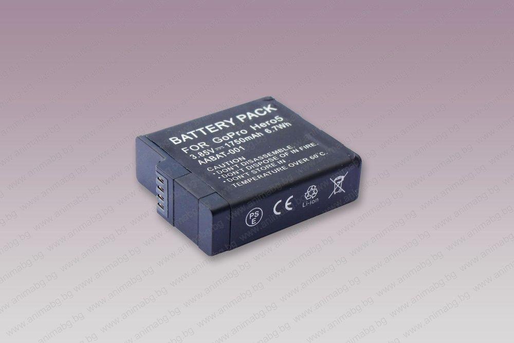 ANIMABG Батерия модел GoPro AABAT-001, AHDBT-501