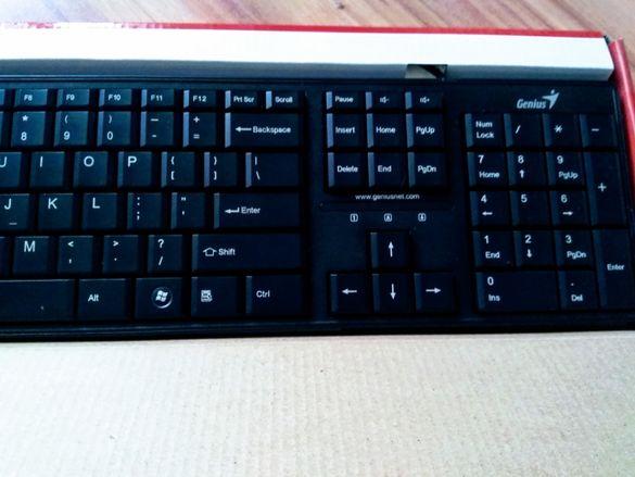 Клавиатура - Нова- Тиха и Водоустойчива