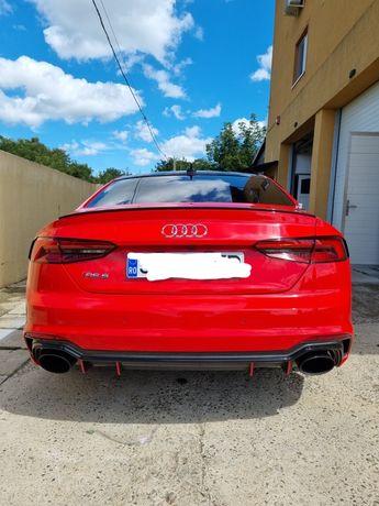 Eleron portbagaj carbon original Audi RS5 B9 Coupe, potrivit A5 / S5