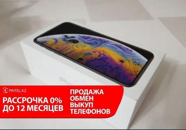 Рассрочка APPLE iPhone x, 256gb Silver , айфон x,256гб . Серебряный
