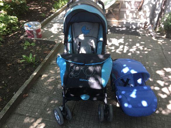 Детска количка и кошница
