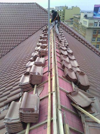 Изграждане и ремонт на покриви и огради