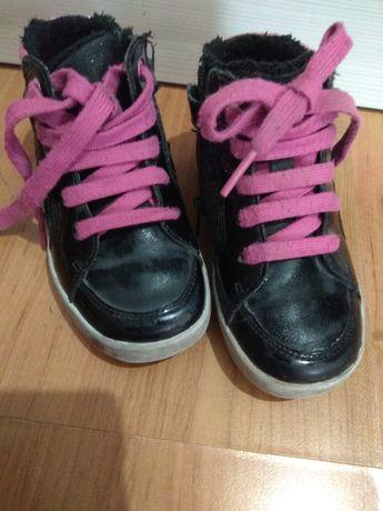 Кожаные ботинки geox 24