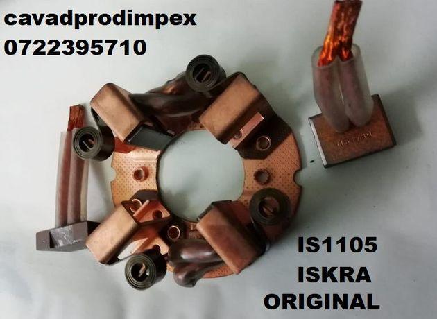 Suport cu carbuni original ISKRA pentru electromotor IS1105,AZF4181