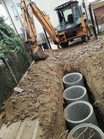 Отпушване на канали почистване на септични ями