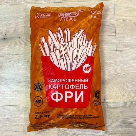 Продам замороженный картофель фри