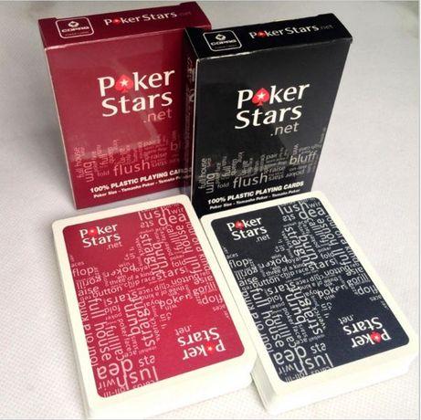 Карти супер пластик за игра Poker stars