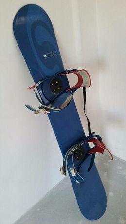 Placa snowboard Salomon + leg. Burton + Boots Solomon