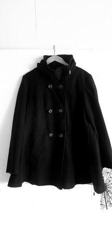 Дамско разкроено палто XL