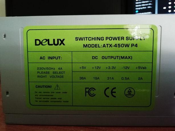 Sursă PC Delux, model ATX-450W P4