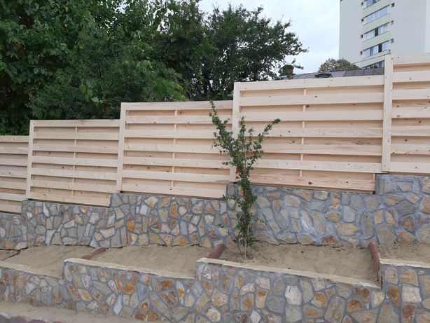 Gard Lemn si Mobilier de Grădină