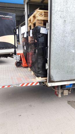 Transport marfa  auto cu lift și liza
