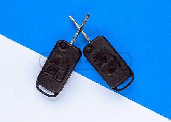 Кутийка ключ за Mercedes Benz / Мерцедес сгъваема Дистанционно