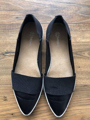 Красиви дамски обувки от естествена кожа TT Bagatt, номер 38
