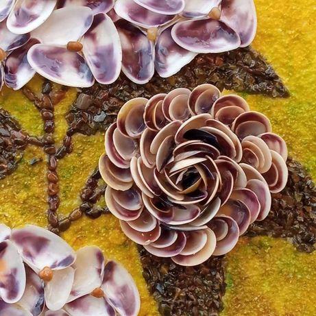 Картина от естествени материали