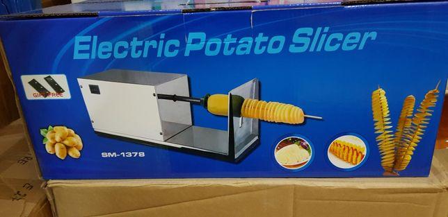 Masina spiralat cartofi electrica