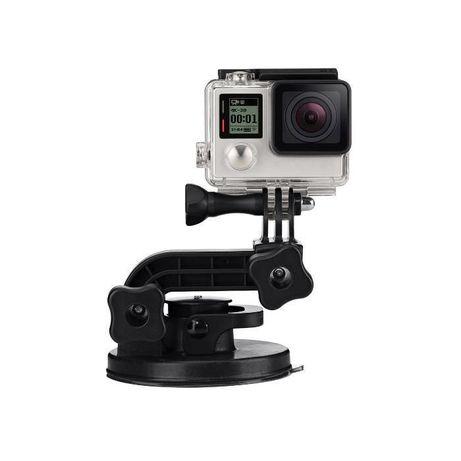 Вакуум стойка suction cup premium version за екшън камери | hdcam.bg