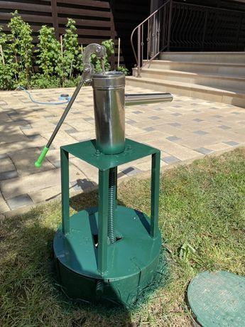 Pompa manuala de gradina din inox apa benzina motorina ulei orice