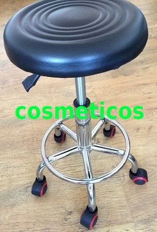 Scaun cosmetica/manichiura/pedichiura|Scaun rotund mobil|Scaun rotativ