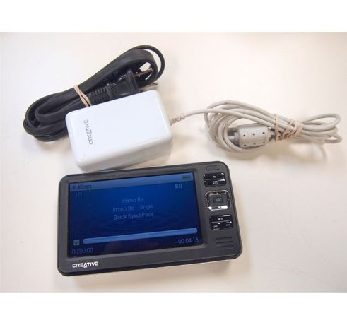 Creative ZEN Vision W 30Gb HARD ZIF Impecabil Adaptor CF MMC Cablu AC
