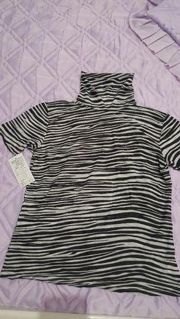 Дамска блузка с къс ръкав