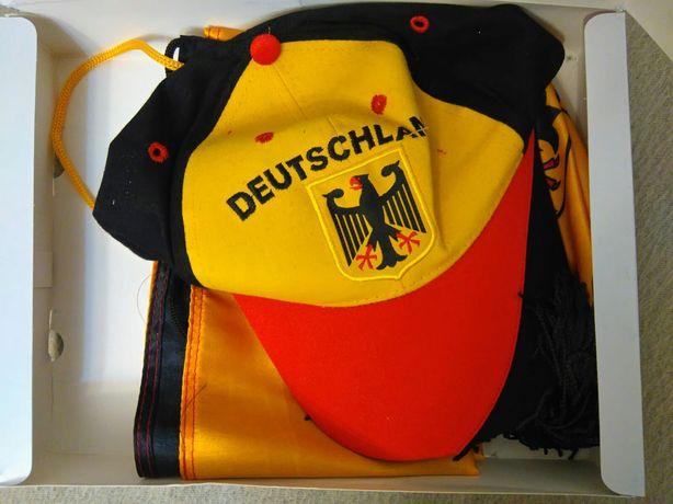 Fan set Germany, drapel, sapca, fular/esarfa, fanion