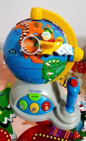 Glob pământesc interactiv Vtech cu diferite funcții