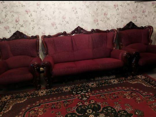 Комплект диван кресло