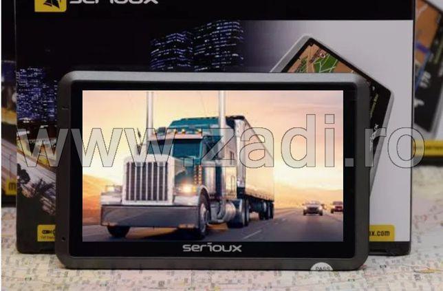 Gps camioane garantie 3 ani-model serioux upq430 - harti toata europa