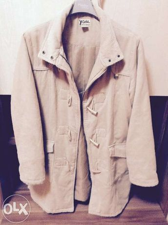 Palton fete de catifea L